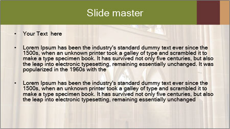 Catholic church PowerPoint Template - Slide 2