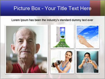 Portrait of elderly man PowerPoint Templates - Slide 19