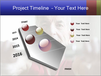 Portrait of elderly man PowerPoint Templates - Slide 26