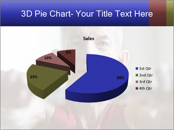Portrait of elderly man PowerPoint Templates - Slide 35