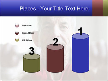 Portrait of elderly man PowerPoint Templates - Slide 65