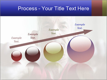Portrait of elderly man PowerPoint Templates - Slide 87