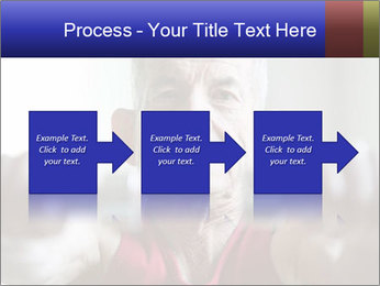 Portrait of elderly man PowerPoint Templates - Slide 88