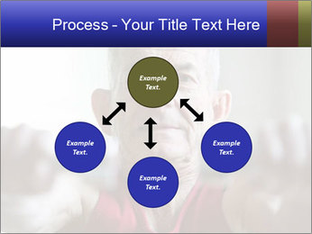 Portrait of elderly man PowerPoint Templates - Slide 91