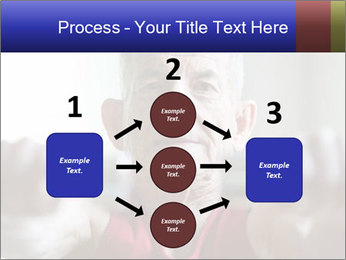 Portrait of elderly man PowerPoint Templates - Slide 92