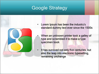The woman in shop PowerPoint Template - Slide 10