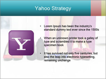 The woman in shop PowerPoint Template - Slide 11