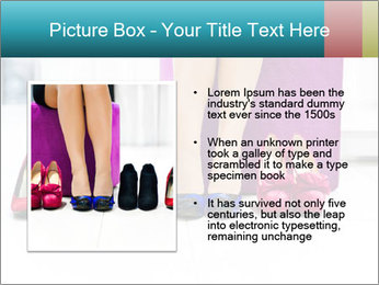 The woman in shop PowerPoint Template - Slide 13
