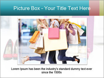 The woman in shop PowerPoint Template - Slide 15