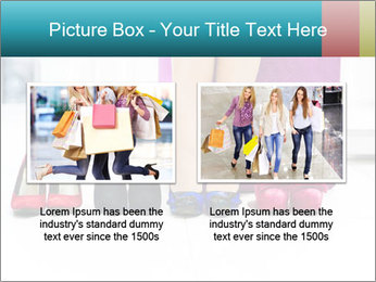 The woman in shop PowerPoint Template - Slide 18