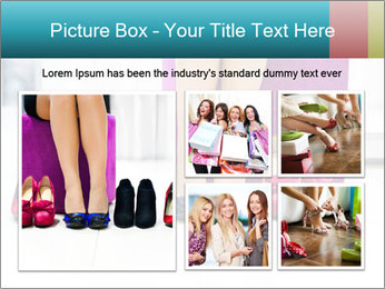 The woman in shop PowerPoint Template - Slide 19