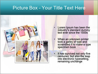 The woman in shop PowerPoint Template - Slide 20