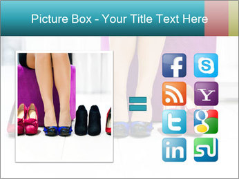 The woman in shop PowerPoint Template - Slide 21