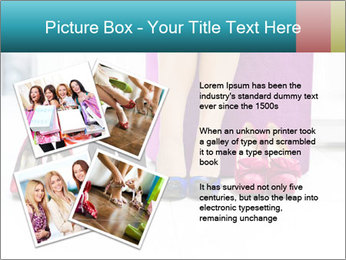 The woman in shop PowerPoint Template - Slide 23