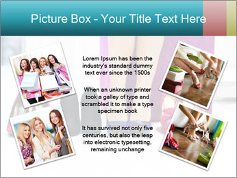 The woman in shop PowerPoint Template - Slide 24