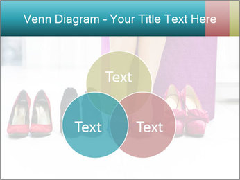 The woman in shop PowerPoint Template - Slide 33