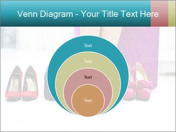 The woman in shop PowerPoint Template - Slide 34