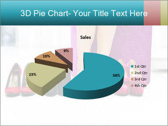 The woman in shop PowerPoint Template - Slide 35