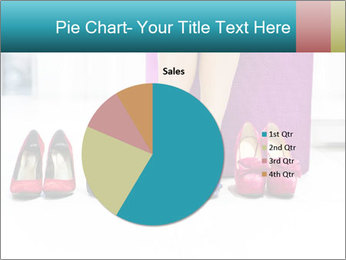 The woman in shop PowerPoint Template - Slide 36