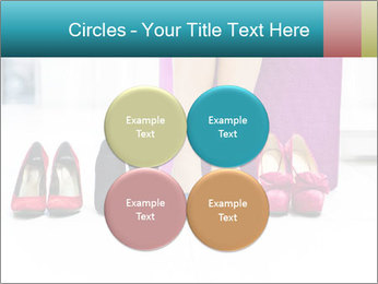 The woman in shop PowerPoint Template - Slide 38