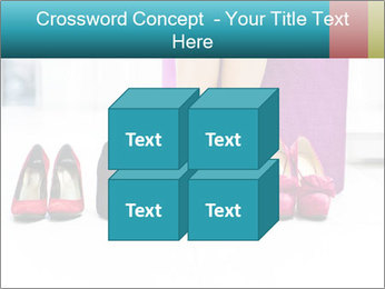 The woman in shop PowerPoint Template - Slide 39