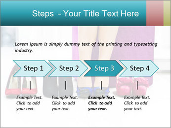 The woman in shop PowerPoint Template - Slide 4