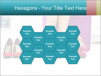 The woman in shop PowerPoint Template - Slide 44