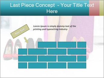 The woman in shop PowerPoint Template - Slide 46