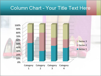 The woman in shop PowerPoint Template - Slide 50
