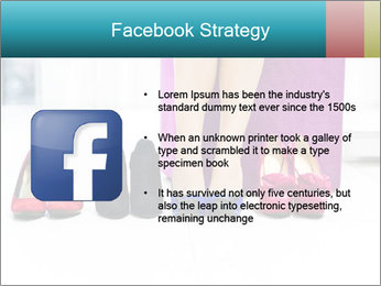 The woman in shop PowerPoint Template - Slide 6