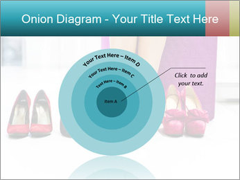 The woman in shop PowerPoint Template - Slide 61