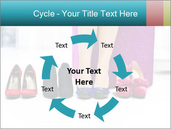 The woman in shop PowerPoint Template - Slide 62