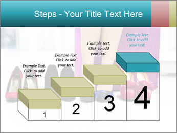 The woman in shop PowerPoint Template - Slide 64