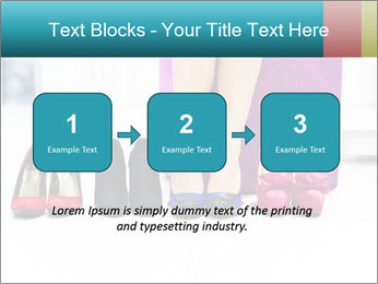 The woman in shop PowerPoint Template - Slide 71