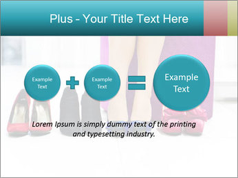 The woman in shop PowerPoint Template - Slide 75