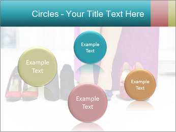 The woman in shop PowerPoint Template - Slide 77