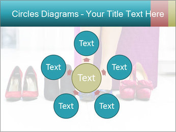 The woman in shop PowerPoint Template - Slide 78