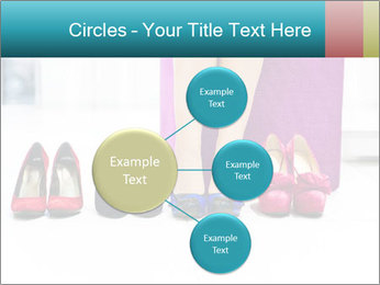 The woman in shop PowerPoint Template - Slide 79