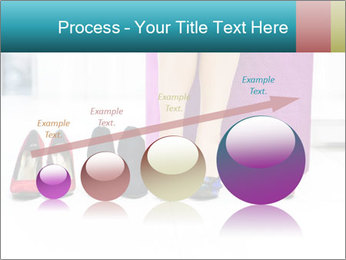The woman in shop PowerPoint Template - Slide 87