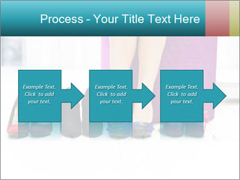 The woman in shop PowerPoint Template - Slide 88