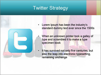 The woman in shop PowerPoint Template - Slide 9