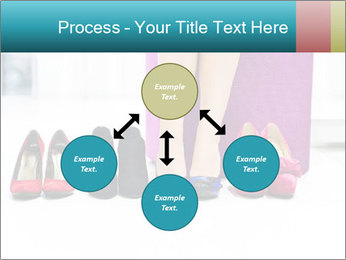 The woman in shop PowerPoint Template - Slide 91