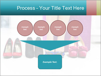 The woman in shop PowerPoint Template - Slide 93