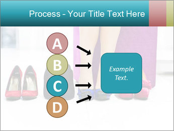 The woman in shop PowerPoint Template - Slide 94