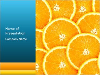 Citrus-fruit PowerPoint Template - Slide 1