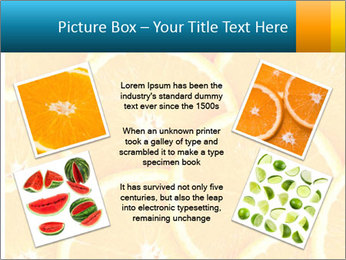 Citrus-fruit PowerPoint Template - Slide 24