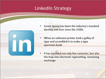 Copper pipes and pliers PowerPoint Template - Slide 12