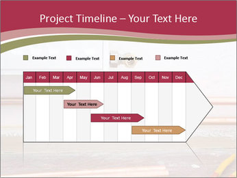 Copper pipes and pliers PowerPoint Template - Slide 25