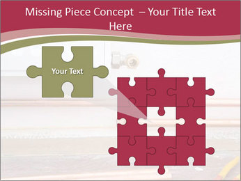 Copper pipes and pliers PowerPoint Template - Slide 45