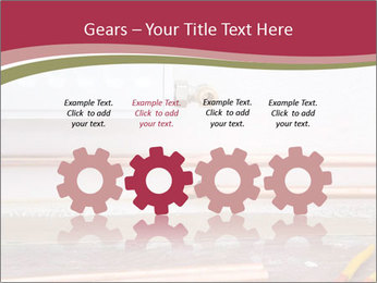 Copper pipes and pliers PowerPoint Template - Slide 48